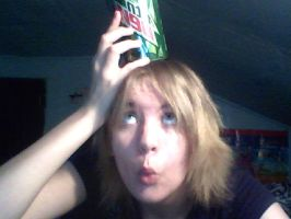 Mountain Dew on my head... by ITakeDumbSelfies