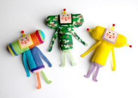 Katamari Cousins Set IV by whitefrosty