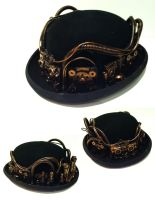 steampunk bowler hat 2 by richardsymonsart
