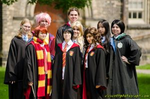 Harry Potter and Friends by vickybunnyangel