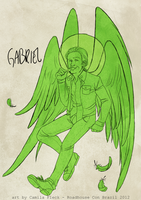 spn: gabriel by monsternist