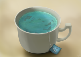 Sea In A Cup by Kylika