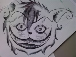 Cheshire Cat by Letizi