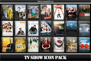 TV Show Icon Pack 5 by FirstLine1