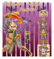 Halloween Witch Auction by WanNyan