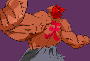 SFA3 Akuma Victory HD Restored by Apoklepz
