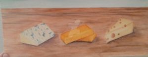 3 Cheese Platter by gasparic104