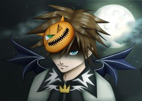 Halloween Sora by XxX-Toxic-Girl-XxX