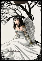 Athena: Goddess of wisdom. by Red-Queen666
