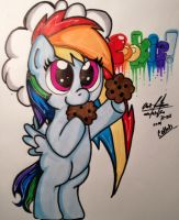 Art Collab: CooKie! by Mr-skylineR34