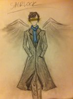 Sherlock angel by Lumicat12