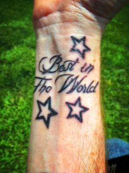 Best in the World Tattoo by GrindhouseCinema