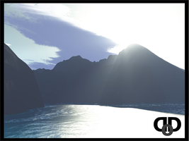 Shoreside Mountains by DarkDrako