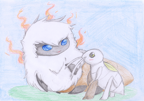 PKMNation Micromission: Apollo and Nyssa by LaDjanny