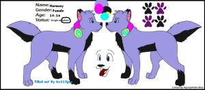 Harmony Character Ref by bw113gez
