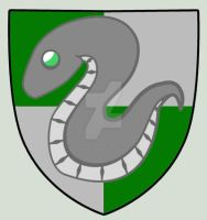 The Slytherin Crest by hatirrisworldproject