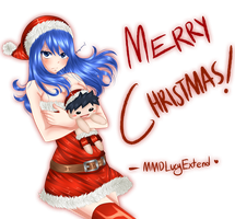 Merry Christmas~ by MMDLucyExtend