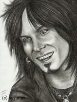 Nikki Sixx 5 by SavanasArt