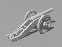 French cannon by 6U574V