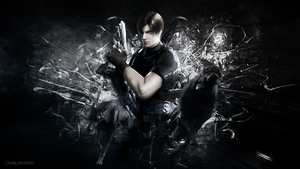 Resident Evil Wallpaper - Leon S Kennedy - by Junleashed