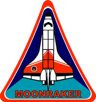 Moonraker Space Shuttle Insignia by viperaviator