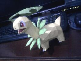 bayleef papercraft by rafex17