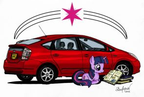 Twilight's Prius by Berlioz-II