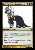 HaD - Zecora, Zebra Enchantress by pegasusBrohoof