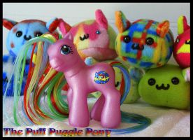 Puff Puggle Pony by wylf