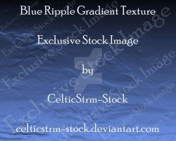 Blue Ripple Texture by CelticStrm-Stock by CelticStrm-Stock