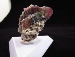 Watermelon tourmaline cluster by Civyx