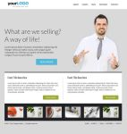 Free PSD Template - Website layout by fluerasa