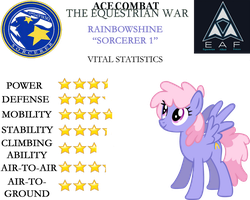 Ace Combat: The Equestrian War - Rainbowshine by SonictheHedgehogPL