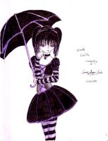 Goth Lolita Umbrella by my-star-seeker
