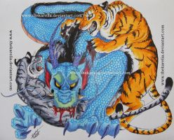 Fighters_Tattoo Design. by TheKarelia
