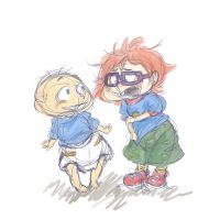 Tommy and Chuckie by janzfriend
