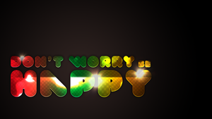 Don't worry, be happy by creativecircle