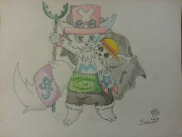 Shion Sporting Straw Hat Priate Swag by DuneTheZangoose