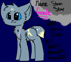 (Re-Upload) Storm Star by Hello-Its-A-Snail