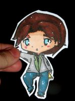 paper child: Alan wake by Sunchildkate