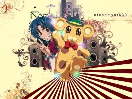 Full Metal Panic Fumoffu by rpgfan04