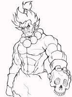 akuma WiP by DominicanFlavor