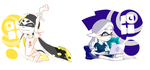Splatoon_Early Birds VS Night Owls by Chivi-chivik