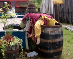 Drunken Pirate by mistresskristinphoto