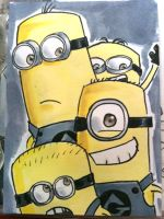 Con Card - Minions by Jadiekins