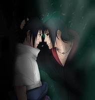 ''I Will Love You Forever...'' Sasuke and Itachi by MSU82