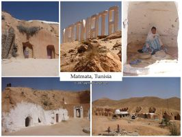 Postcard - Matmata, Tunisia by jpgmn