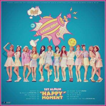 WJSN - The 1st Album : Happy Moment by DiYeah9Tee4