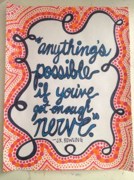 Anything is Possible  by flying-never-fallen