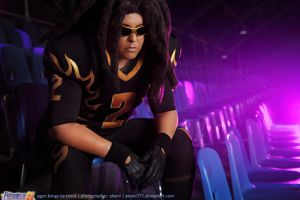 Eyeshield 21:  Agon Kongo by aKami777
